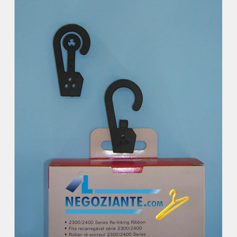 GANCI NERI A BOTTONE PER CONFEZIONI (200pz)